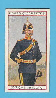 Military  -  Cope  Bros.  -  Rare Eminent British Officers Card No.  18  -  1908