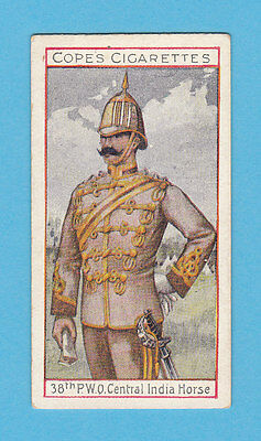 Military  -  Cope  Bros.  -  Rare Eminent British Officers Card No.  20  -  1908