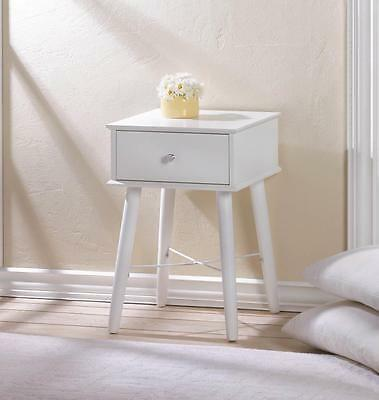 Modern Chic Accent Cabinet Night Stand Side End Table Office Bath Storage Drawer