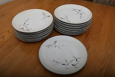 18 Available Cherry Blossom Fine China Japan 1067 Dinner Plate 10 1/4""