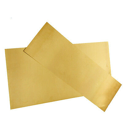H62 Yellow Copper Foil/Sheet Brass Metal Plate Metalworking 1.5mm*300mm*100mm