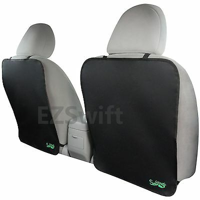 Back Seat Kick Mats 2 PK Top Quality Car Backseat Cover Protectors Set Kids Baby