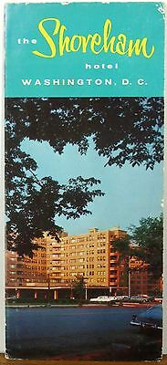 1950's Shoreham Hotel Washington DC vintage travel brochure b