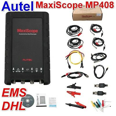 Autel MaxiScope MP408 4 Channel Automotive Oscilloscope Works with Maxisys Tool