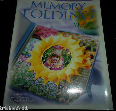 Memory Folding Book - With Free Speciality Sheets! Lovely