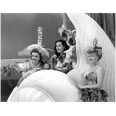 Lana Turner with Girls All Dressed Up and Smiles 8 x 10 Inch Photo