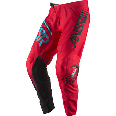 Answer 2017 Kids Mx Gear NEW Syncron Red Teal Youth Dirt Bike Motocross Pants