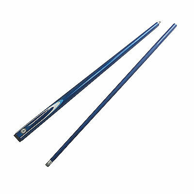 """Graphite 57"""" 2 Piece Cue Classic Navy for Pool Snooker Billiard Free AU Post"""