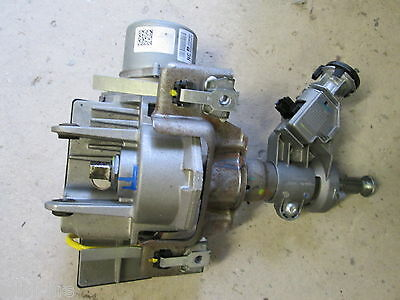 08 Vauxhall Corsa D 1.0 Fixed Power Steering Column Ecu Motor Complete 13290387