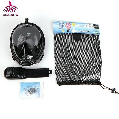 Easy Free Breath Surface Diving Snorkeling Full All Dry Mask Goggles Swimming