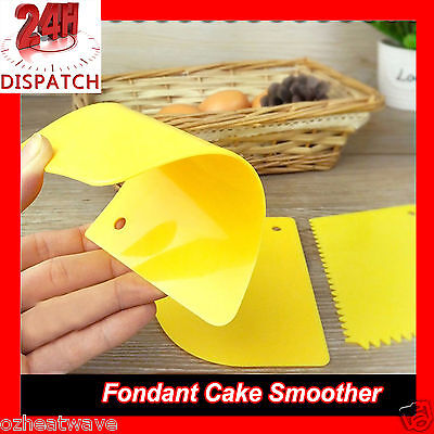 Plastic Dough Scraper Pastry Butter Cutter Baking Cake Decorating Kitchen Tool