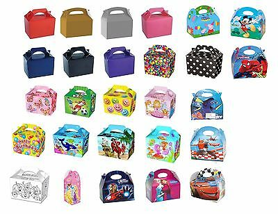 Party Food Boxes Kids Birthday Lunch Meal Fill Loot Bag Wedding Going Home Gift