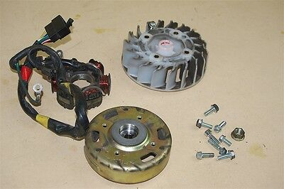 Used Stator, Fan and Fly Wheel For a SYM Jolie 50cc Scooter