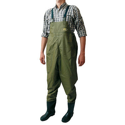 Chest Waders Coarse/sea/fly/boat/carp Fishing Sizes 8,9,10,11 & 12 (Ul480S)