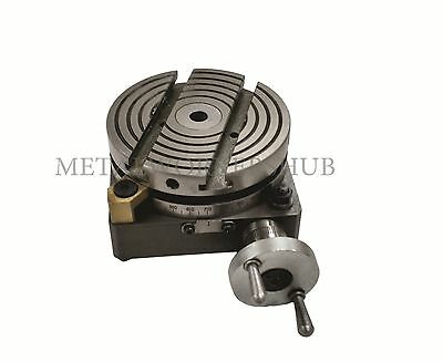 "4"" (100mm) ROTARY TABLE FOR MYFORD LATHE VERTICAL SLIDE"