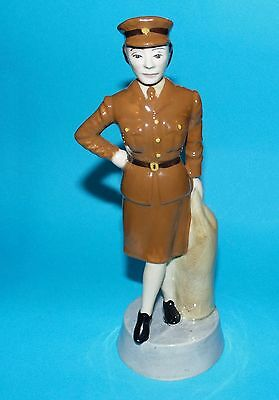 Bairstow Manor collectables figurine 'W.R.A.C' women of the war 1st quality L/E