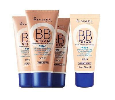 RIMMEL BB CREAM 9 IN 1 SKIN PERFECTING CONCEALER - CHOOSE YOUR SHADE - 30ml