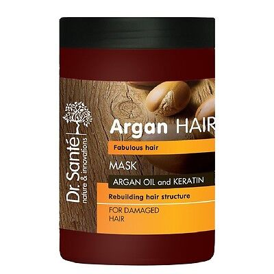 Dr Sante Hair Mask Rebulding Hair Structure with Argan Oil and Keratin 1000 ml