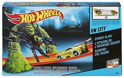 Hot Wheels Track Set - Triple Target Takedown - Zombie Attack - Spider Slam NEW