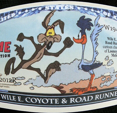 Wile Coyote & Road Runner FREE SHIPPING! Million-dollar novelty bill