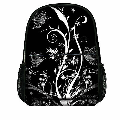 Luxburg® Designer Backpack Rucksack School Gym Travelling bag - Butterflies