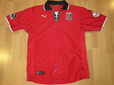 Puma Urawa Rouge Diamants Reds Maillot Jersey Camiseta Japon ca 99/00 env. M