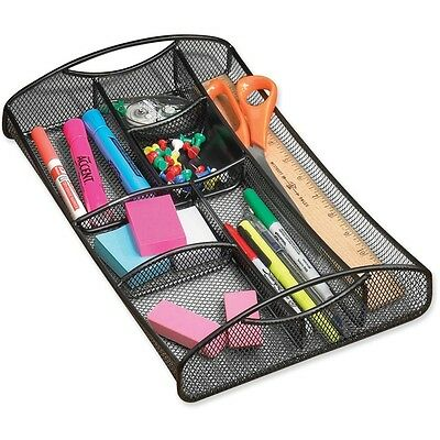 Drawer Organizer, Mesh, Black