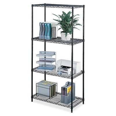 Safco Industrial Wire Shelving - SAF5285BL