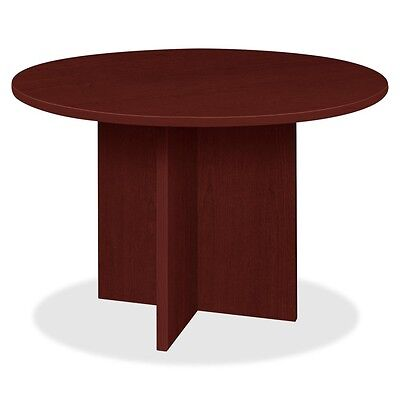 Lorell Prominence 79000 Series Mahogany Round Conference Table - LLR79127