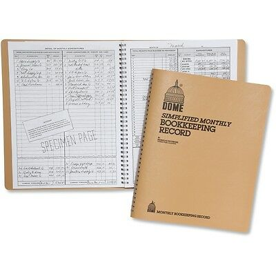 Dome Monthly Bookkeeping Record - DOM612