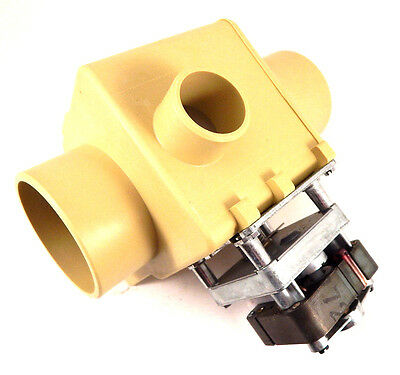 Unimac F8406303 Drain Valve 3 inch, NO, with 1-1/2 inch Overflow, 230V/50-60Hz