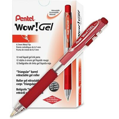 Pentel WOW! Retractable Gel Pen - PENK437B