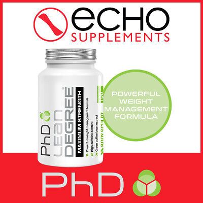 PhD Lean Degree Maximum Strength (100) Strong Fat Burner - FREE Fast Delivery