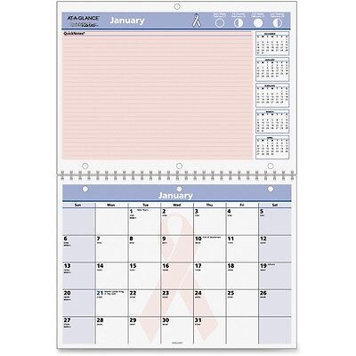 At-A-Glance QuickNotes Breast Cancer Awareness Calendar - AAGPMPN5028