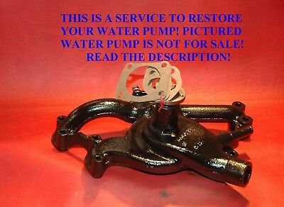 1938 65 Your Original Cadillac Water Pump Restored With Correct Hub New Parts
