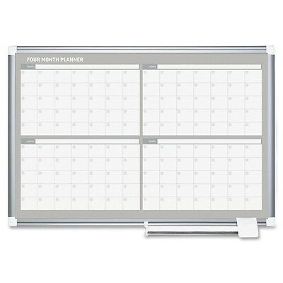 MasterVision Dry-erase 4-Month Planner - BVCGA03105830
