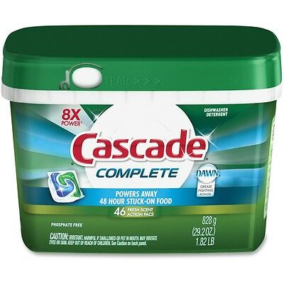 Cascade Complete Dishwasher Pacs - PGC91165CT