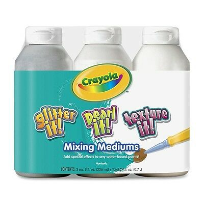 Crayola Tempera Mixing Medium Paint Variety Pack - CYO545504