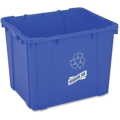 Genuine Joe 14-Gallon Recycling Bin - GJO11582