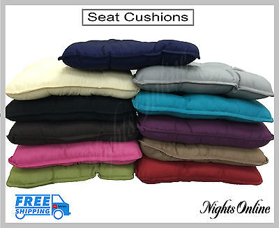 New Seat Cushions, Kitchen Dining Room Garden Chair Cushion Pads