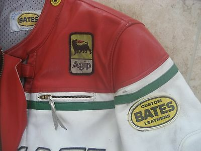 Bates DUCATI LEATHER MOTORBIKE/MOTORCYCLE RACING SUIT