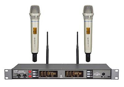2CH UHF Digital Pilot Wireless Handheld Microphone System ATL-AUDIO UGX8Ⅱ H