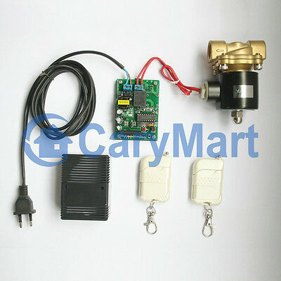 AC220V Electric Solenoid Valve with Power Supply/ Transmitter & Receiver