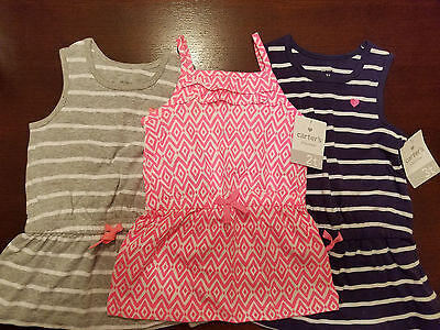 Carter's Playwear  Toddler Girls Sleeveless Top Size 2T 3T 4T  NWT