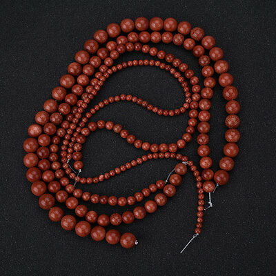 Round Natural Stone Beads For Jewelry Making DIY Bracelet Necklace Drop Kits