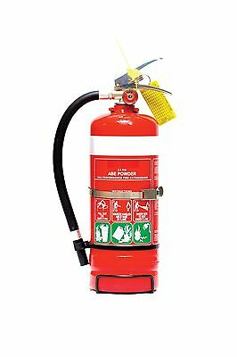 Fire Extinguisher 2.5kg ABE (DCP) Dry Chemical Powder Fire Extinguisher
