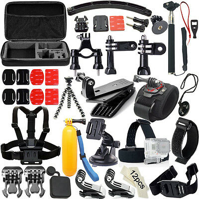 50 -in-1 Outdoor Sports Equipment  Accessories Bundle Kit for GOPRO Hero