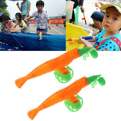 Baby Child Kids Magnetic Fishing Rod Fish Model Educational Toy Fun Game Gift