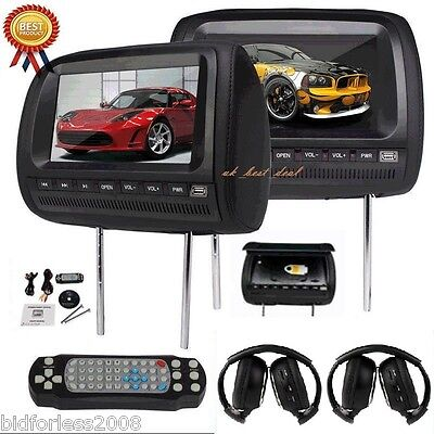 2 9 lcd appui t te de voiture dvd jeux de cartes. Black Bedroom Furniture Sets. Home Design Ideas