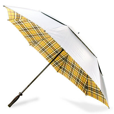 NEW Clifton Thompson Tartan Vented Golf Umbrella